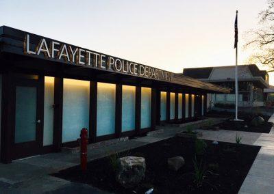 Lafayette Police station, Lafayette CA