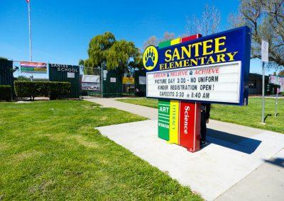 Santee Frontage- E School, San Jose CA