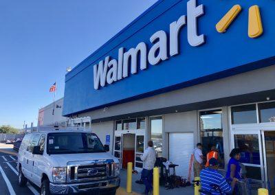 Walmart Store, Sanleandro CA